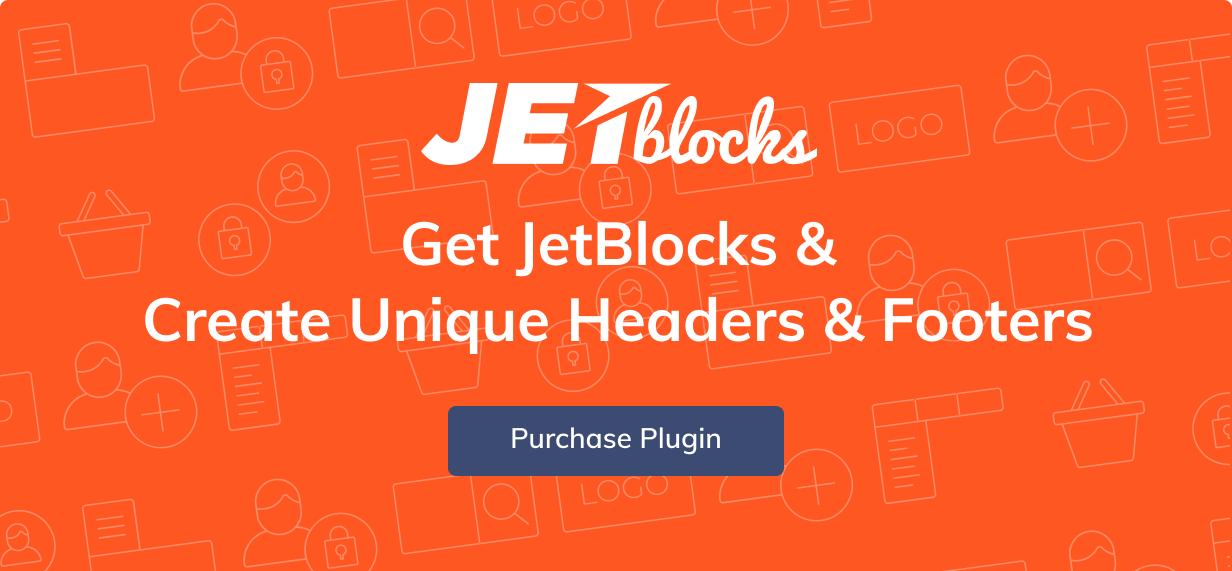 JetBlocks - Elementor Header & Footer Widgets WordPress