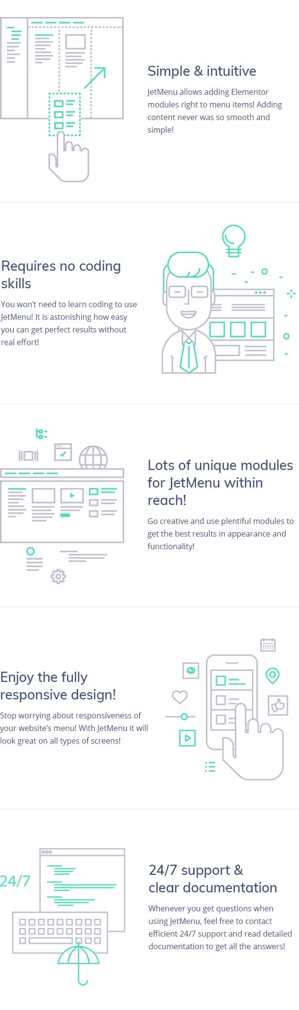 JetMenu - Mega Menu for Elementor Page Builder WordPress Plugin - Features Image 7