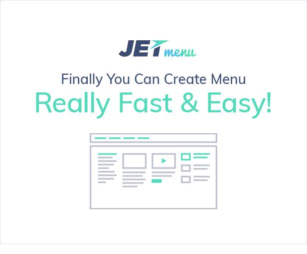 JetMenu - Mega Menu for Elementor Page Builder WordPress Plugin - Features Image 1