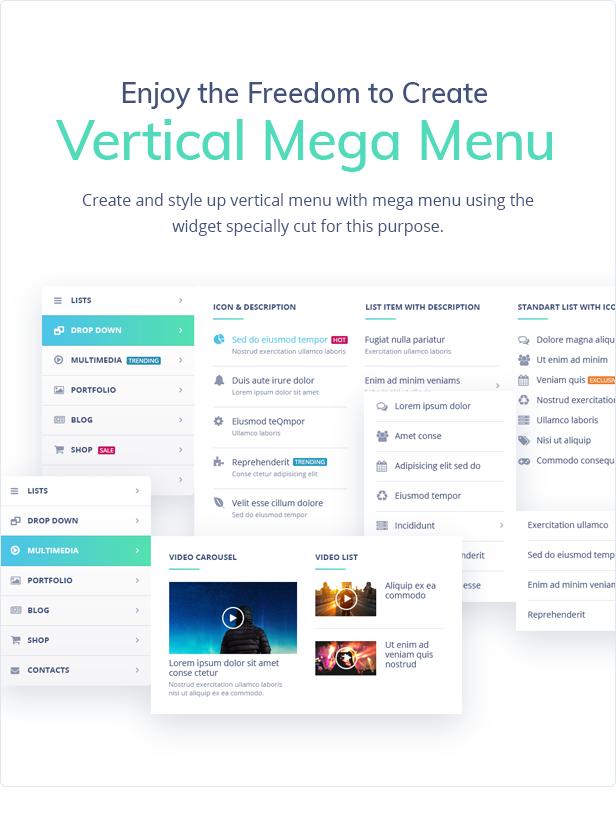 JetMenu - Mega Menu for Elementor Page Builder WordPress Plugin - Features Image 5