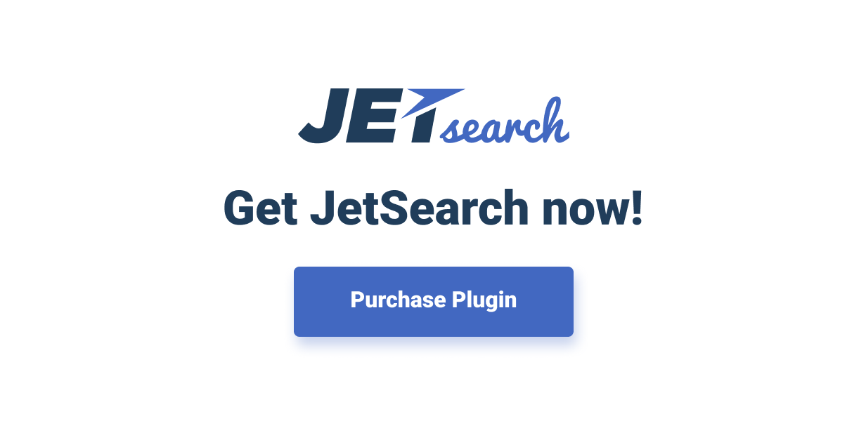 JetSearch — the fastest tool to implement search functionality to Elementor-built pages - 7