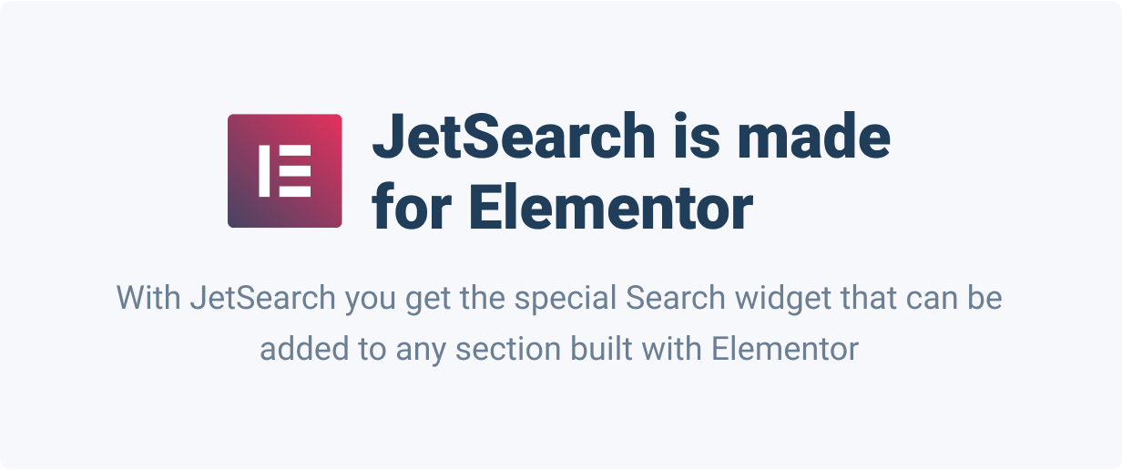 JetSearch — An ultra-fast AJAX Search widget for Elementor - 3