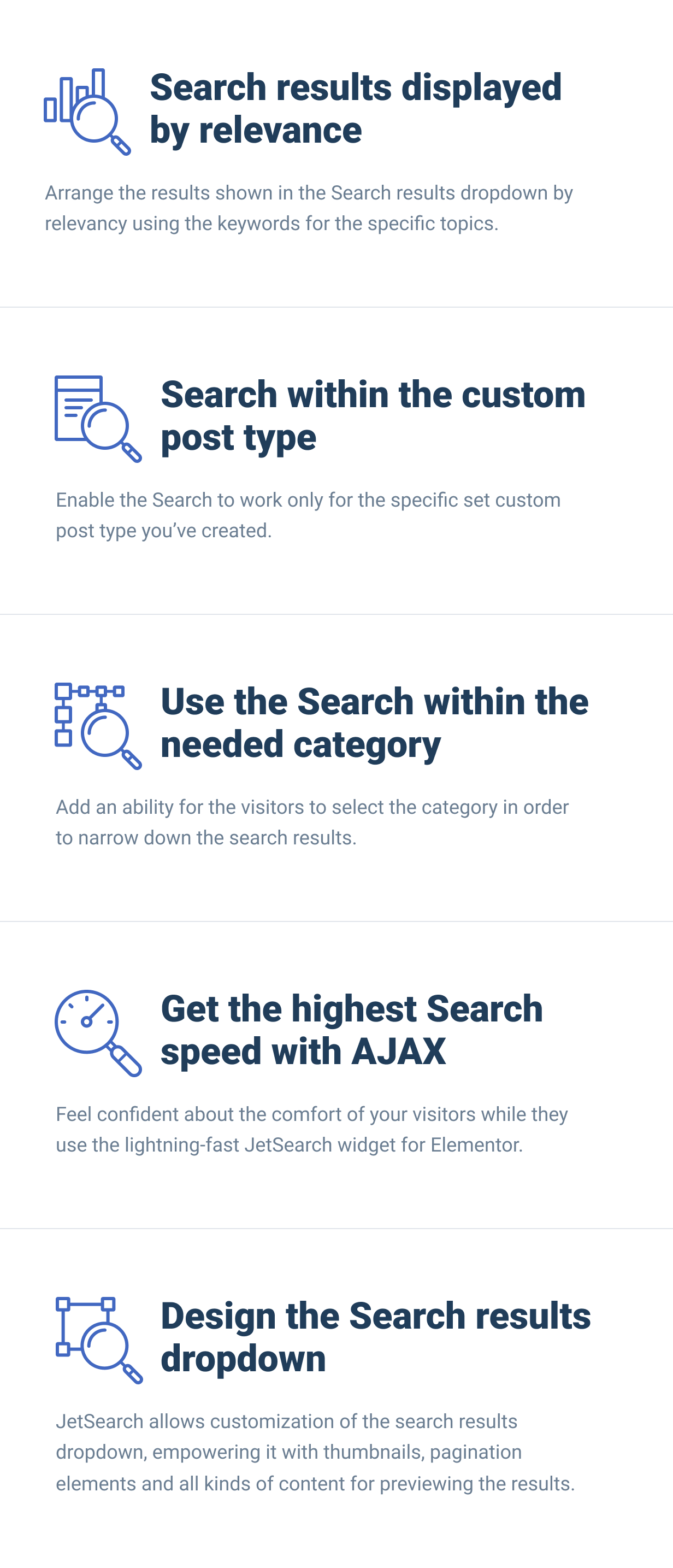 JetSearch — the fastest tool to implement search functionality to Elementor-built pages - 4
