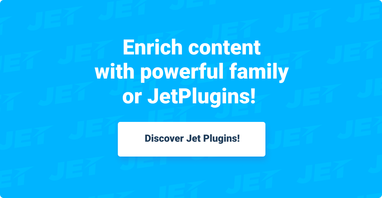 JetSearch — the fastest tool to implement search functionality to Elementor-built pages - 8