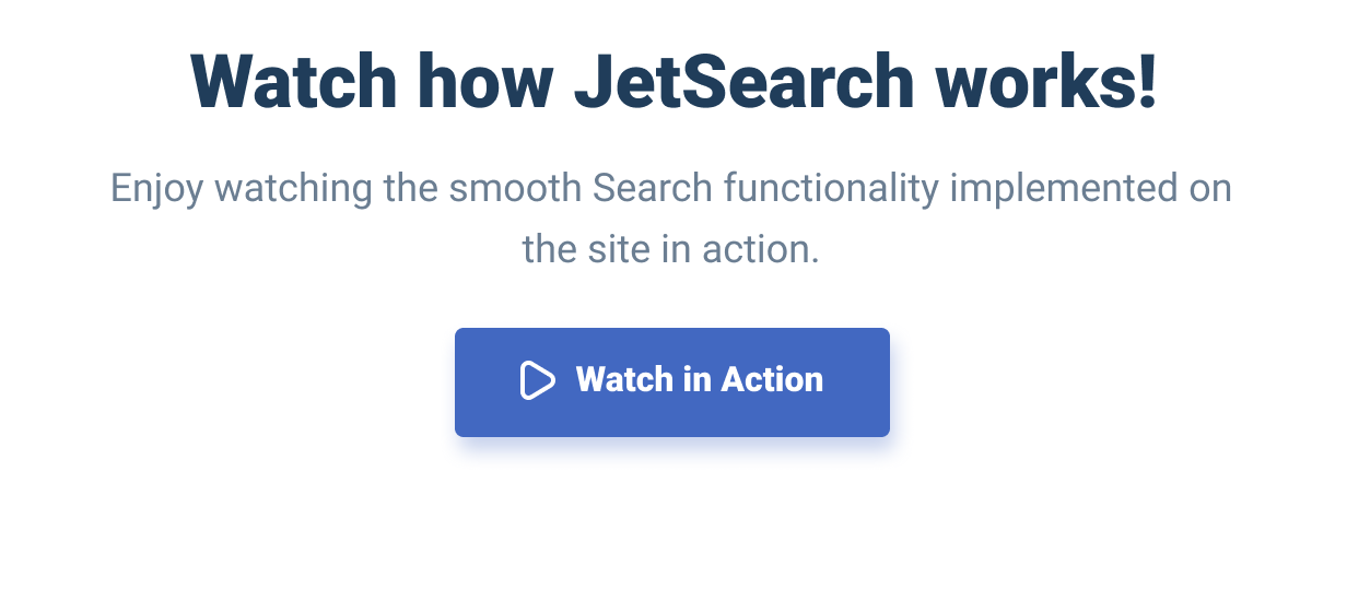 JetSearch — the fastest tool to implement search functionality to Elementor-built pages - 2