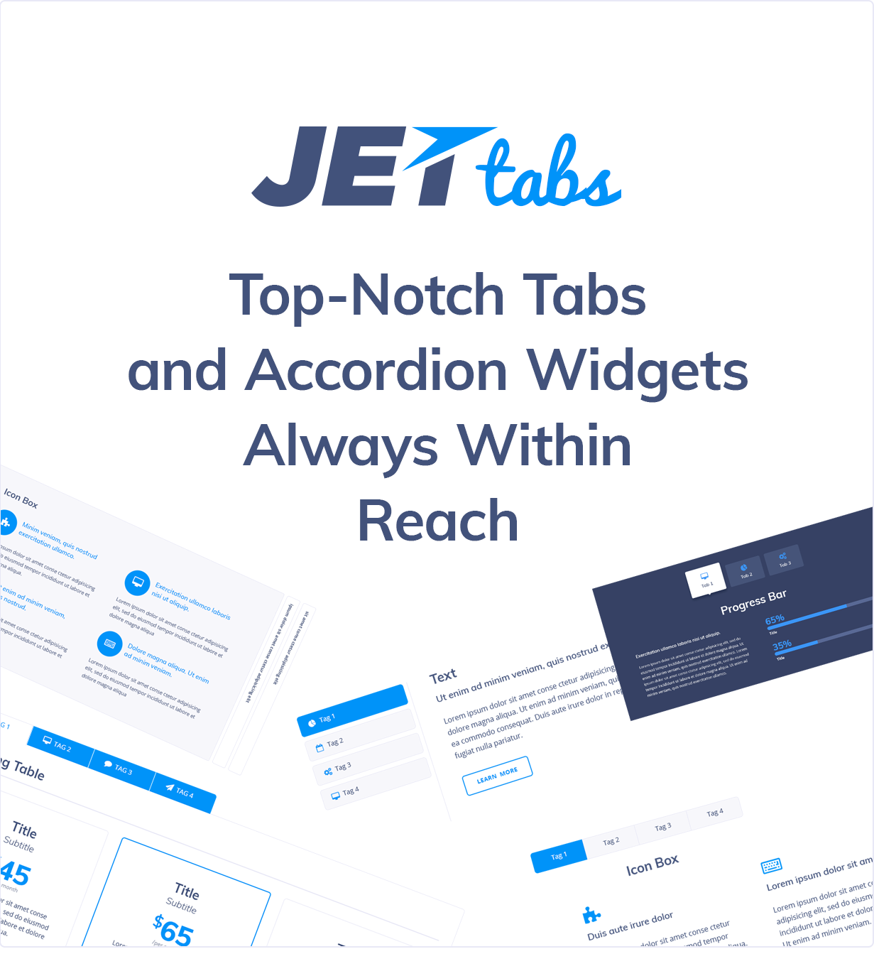 JetTabs - Tabs and Accordions for Elementor Page Builder WordPress Plugin  #69512